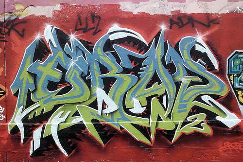 Write My Name In Graffiti