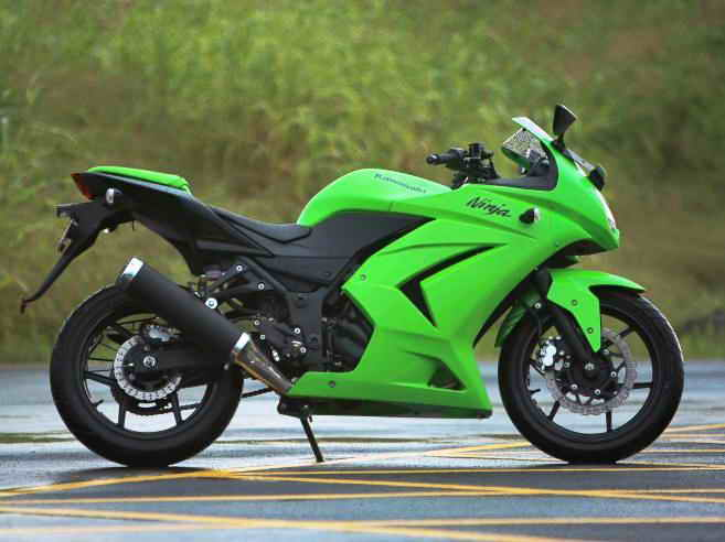 Kawasaki ninja 250r review