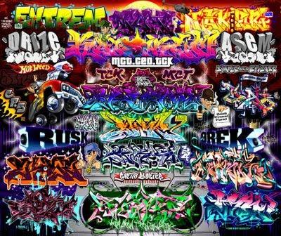 New Graffiti Art Graffiti Alphabet Star Tags 10 Type