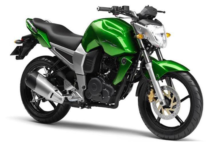 Motorcycle Modification: Yamaha FZ 150 Green | Yamaha Byson