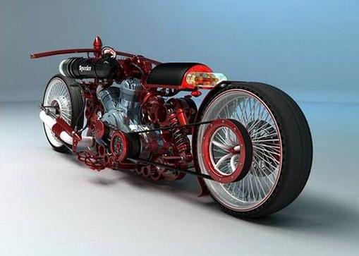 best motor sport choper concept of custom motorcycles