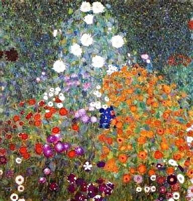 Jardí de flors (Gustav Klimt)
