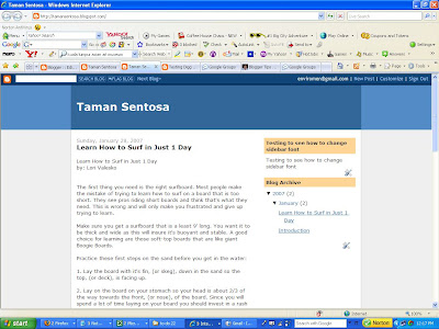 testing changing font of blogger sidebar 1