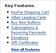 Paypal merchant tools key features