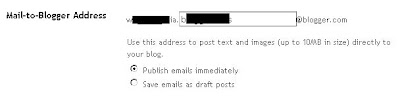 secret mail-to-blogger email address