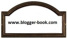 address plaque for Blogger Book URL