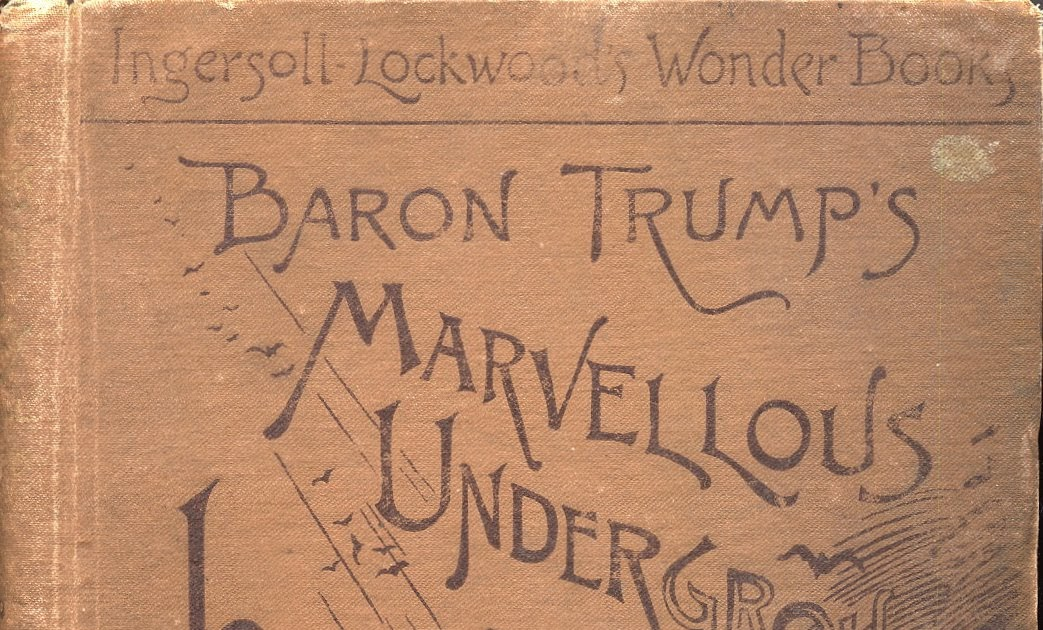 Thoughts Of Bibliomaven The Baron Trump Series By