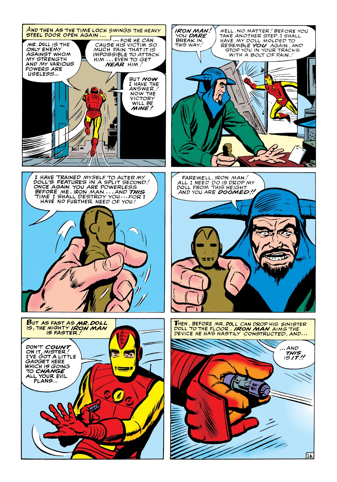 Read online Marvel Masterworks: The Invincible Iron Man comic -  Issue # TPB 1 (Part 2) - 55