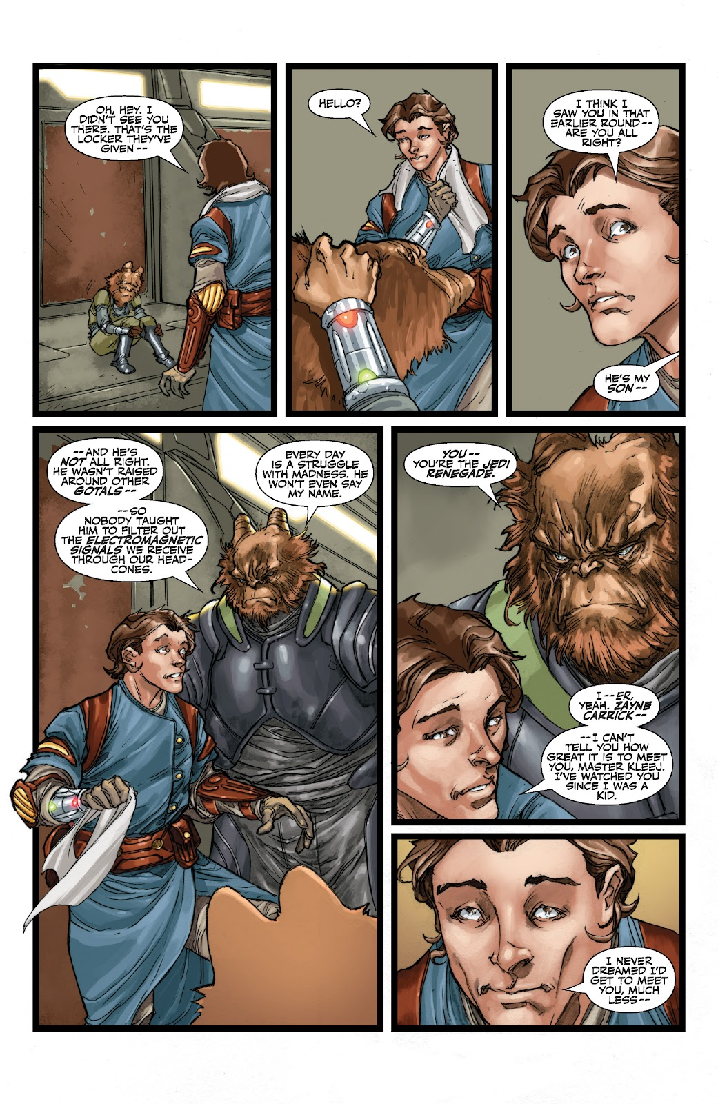 Read online Star Wars Legends: The Old Republic - Epic Collection comic -  Issue # TPB 3 (Part 1) - 51