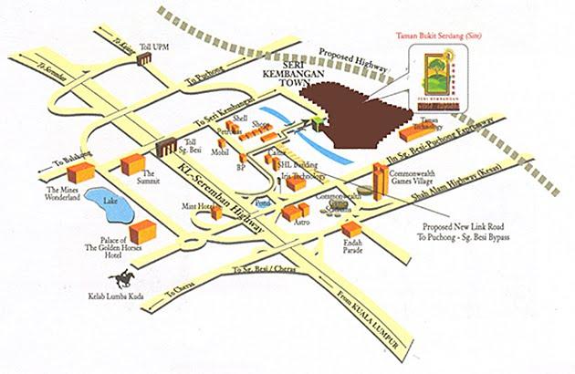 Vista Impiana Studio Apartment Bukit Serdang Vista
