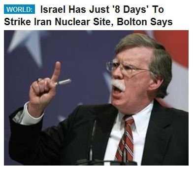 Image result for john bolton warmonger
