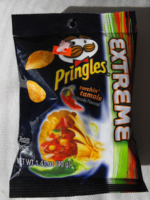 Hot Chicks Eatin\u0027 Spicy Chips Snack #144- Pringles Extreme Torchin