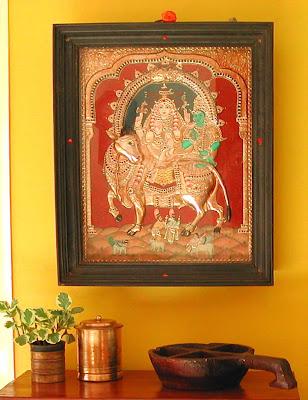 Rhishaba Vahana Tanjore