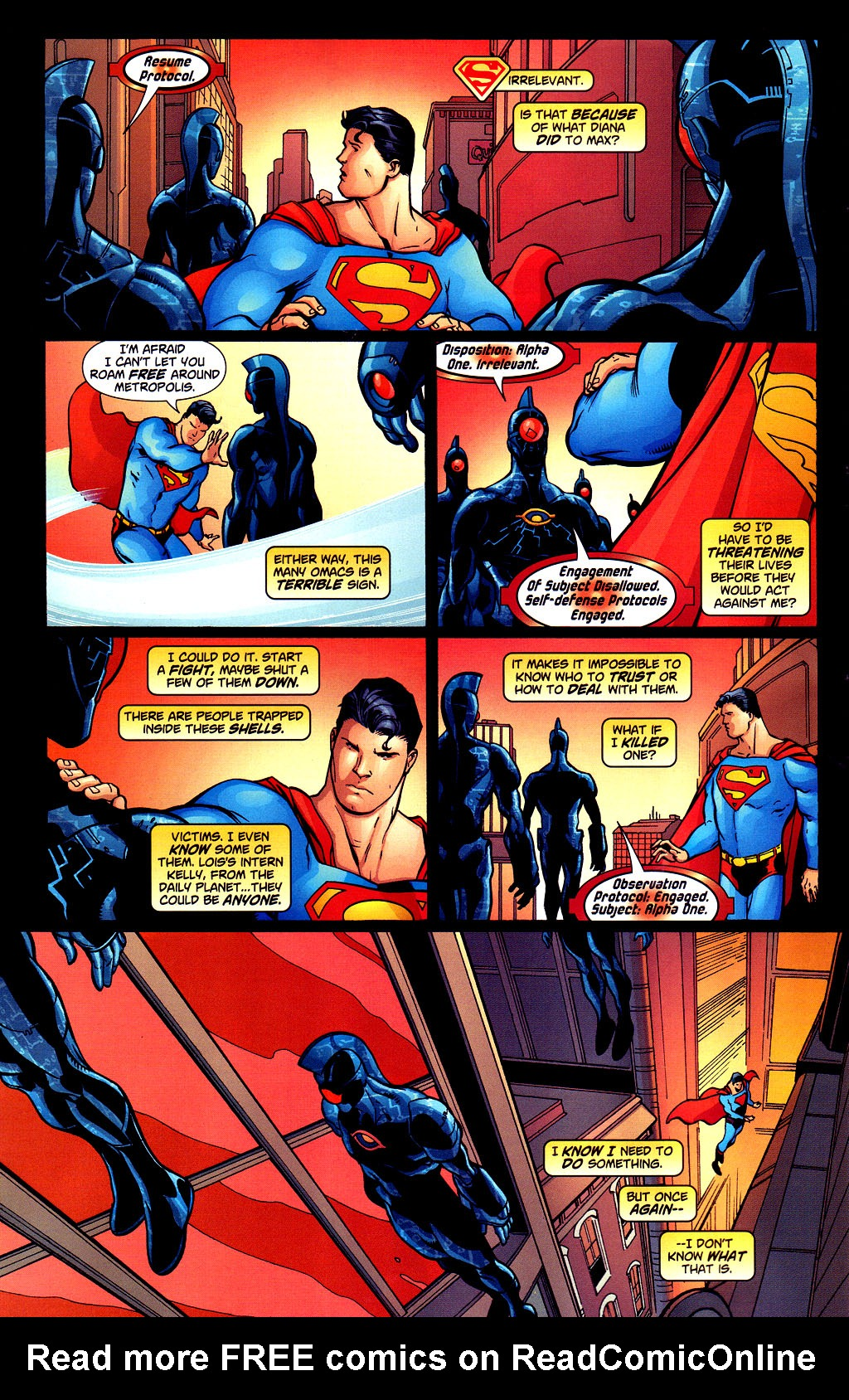 Read online Adventures of Superman (1987) comic -  Issue #645 - 6