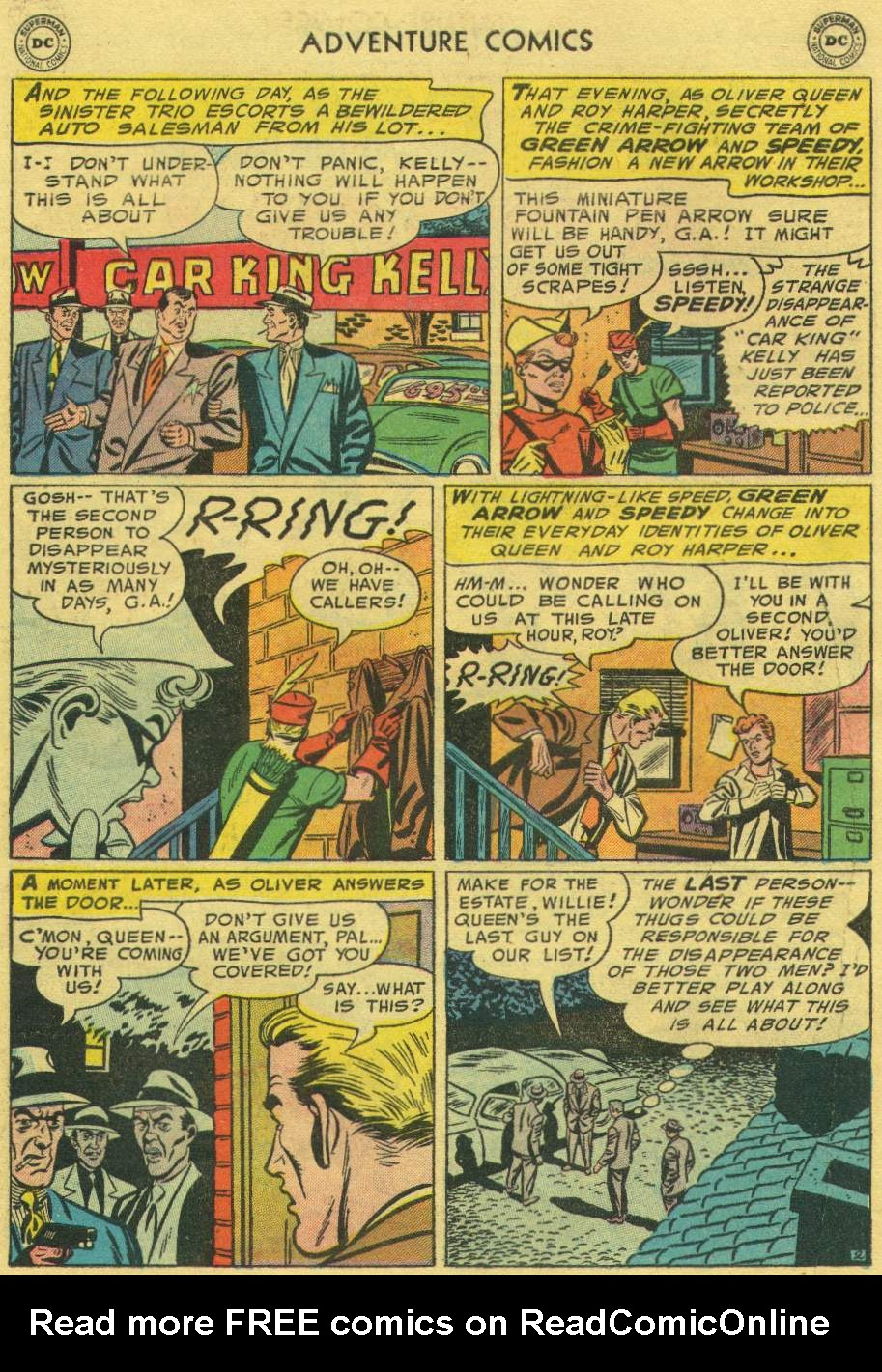 Read online Adventure Comics (1938) comic -  Issue #219 - 28