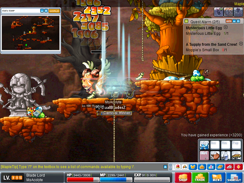 Maplestory- How to go to Crimsonwood Mountain:Lower Ascent