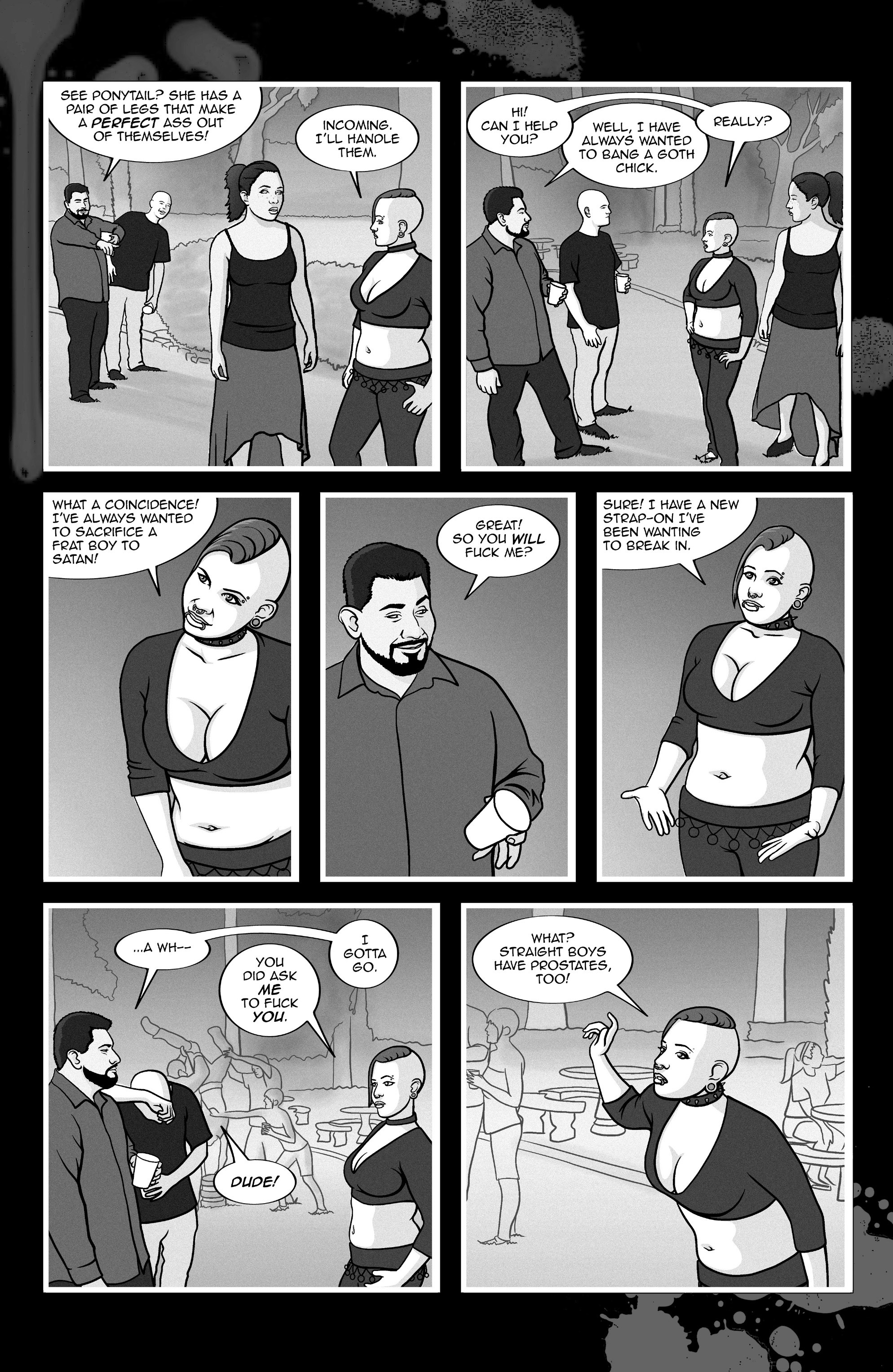 Read online A Voice in the Dark comic -  Issue #4 - 18