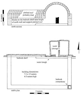Diagram of Typical Above-ground Tombs In Israel