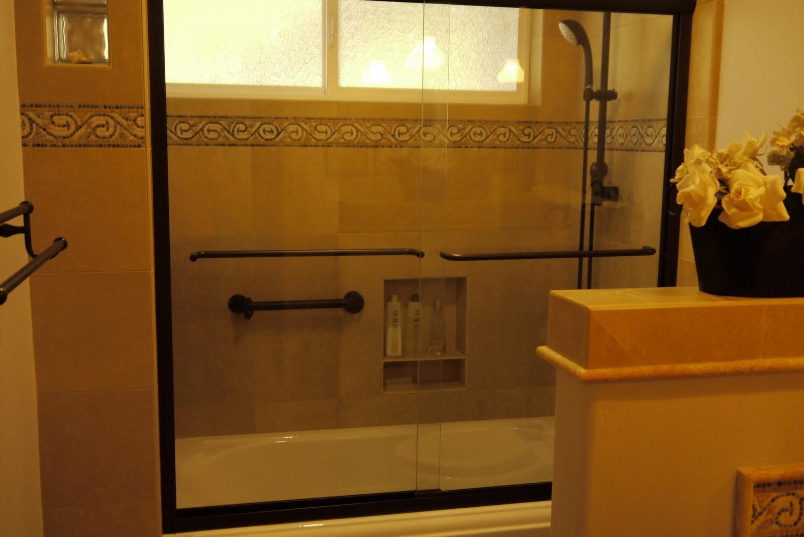 Tile Tub Shower Bo
