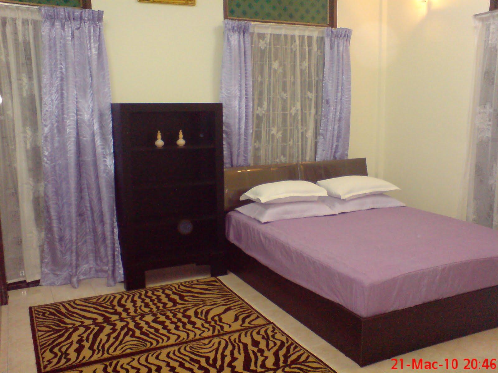Bilik Tidur Pertama Master Room 1 Katil Besar Dan Single