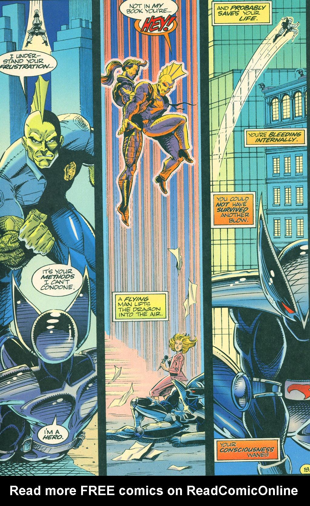 Read online ShadowHawk comic -  Issue #4 - 22