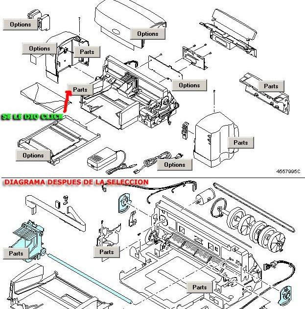 mantenimiento de Impresoras y Scanners: impresora HP