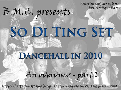 So Di Ting Set - BMC's overview of Dancehall in 2010