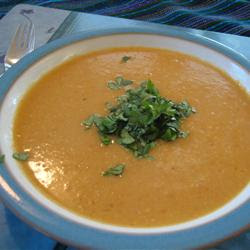 Lebanese-Style Red Lentil Soup Recipe