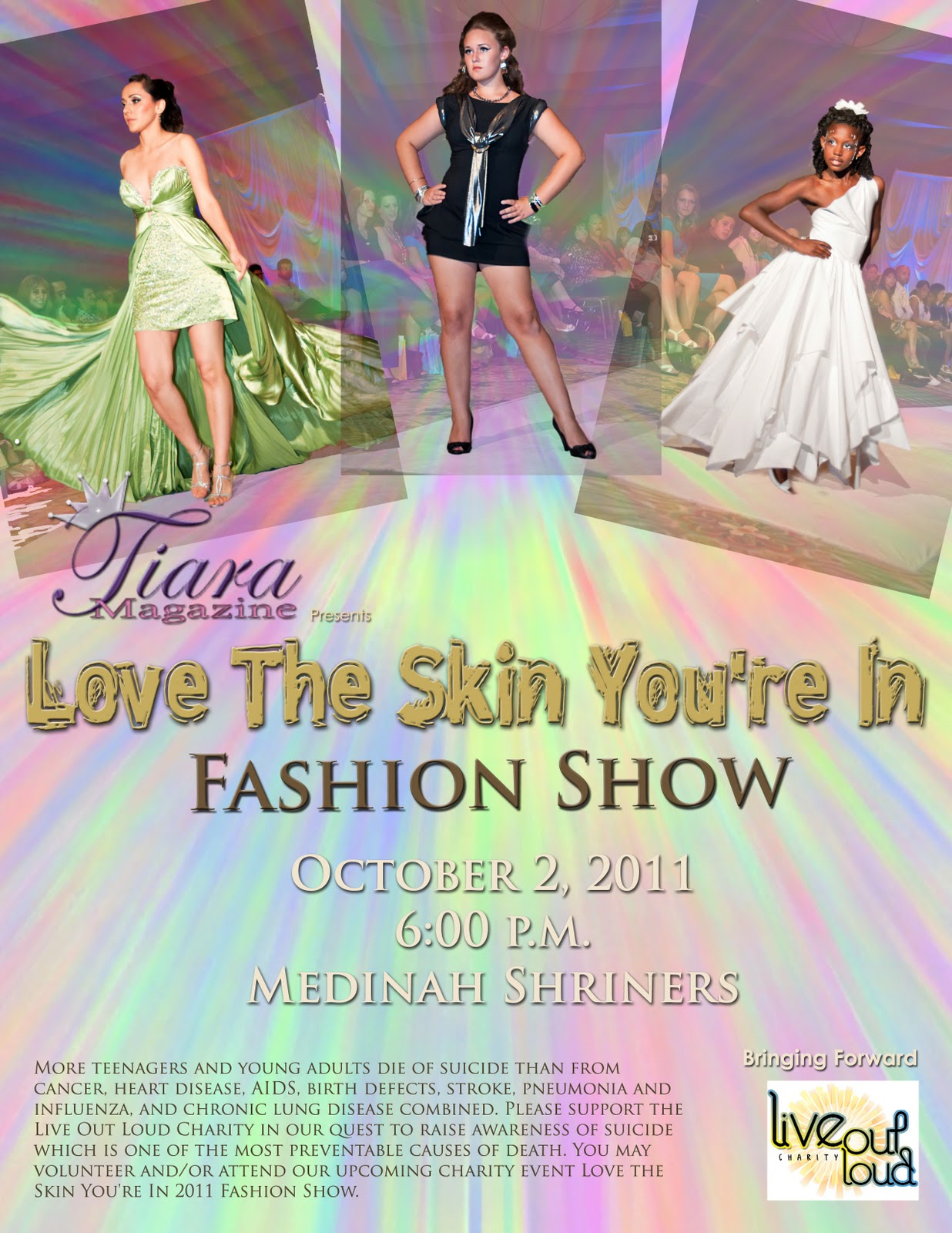 The Life Of Sherrie Gearheart Love The Skin You Re In 2nd Annual Charity Fashion Show