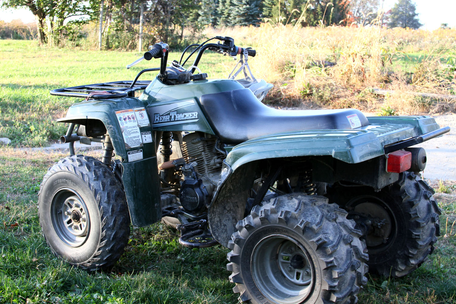 Yamaha Bear Tracker Oil Type
