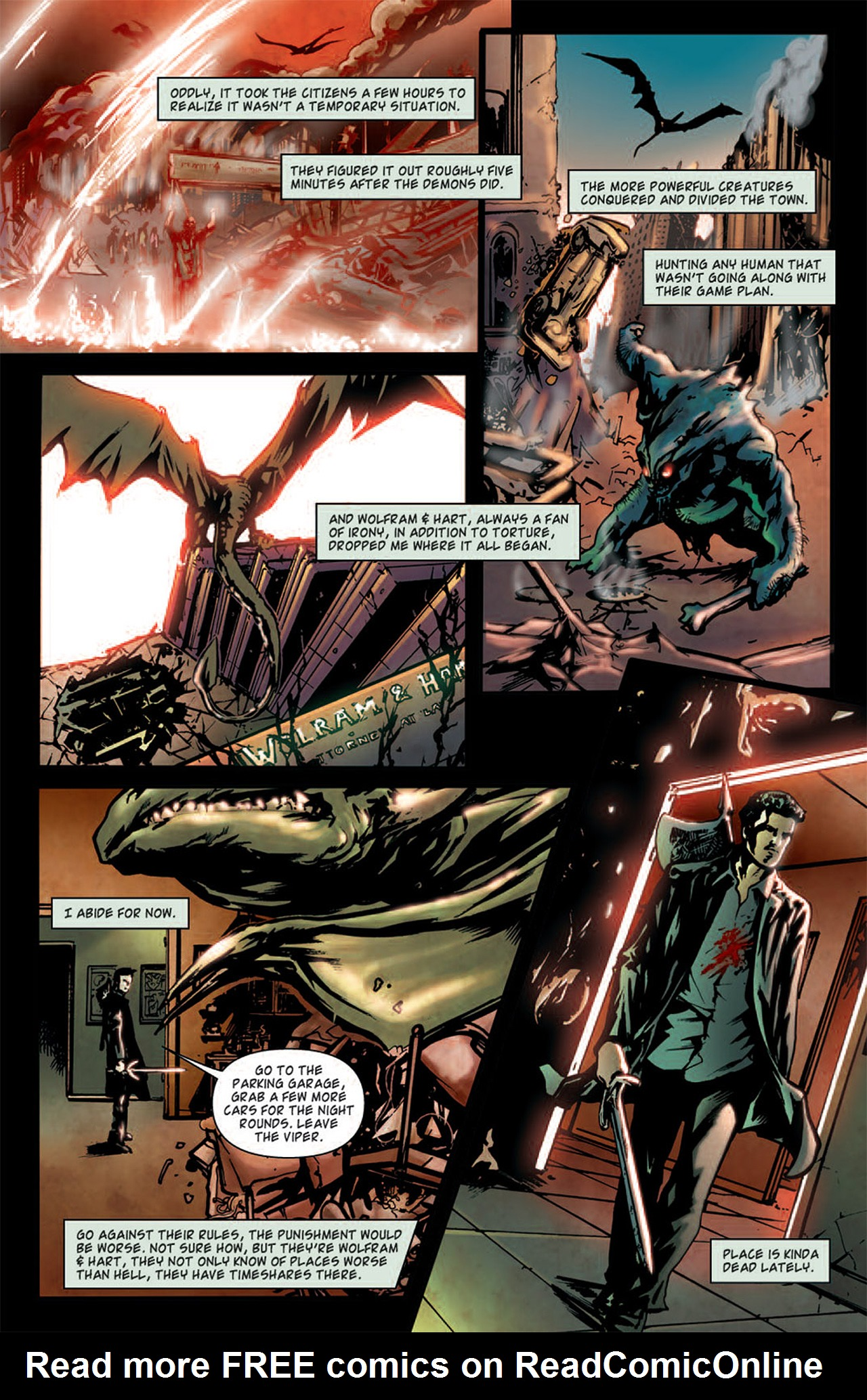 Read online Angel: After The Fall comic -  Issue #1 - 8