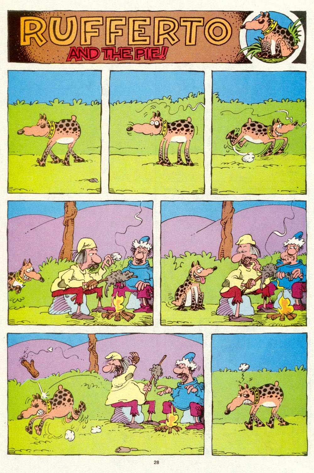 Read online Sergio Aragonés Groo the Wanderer comic -  Issue #94 - 29
