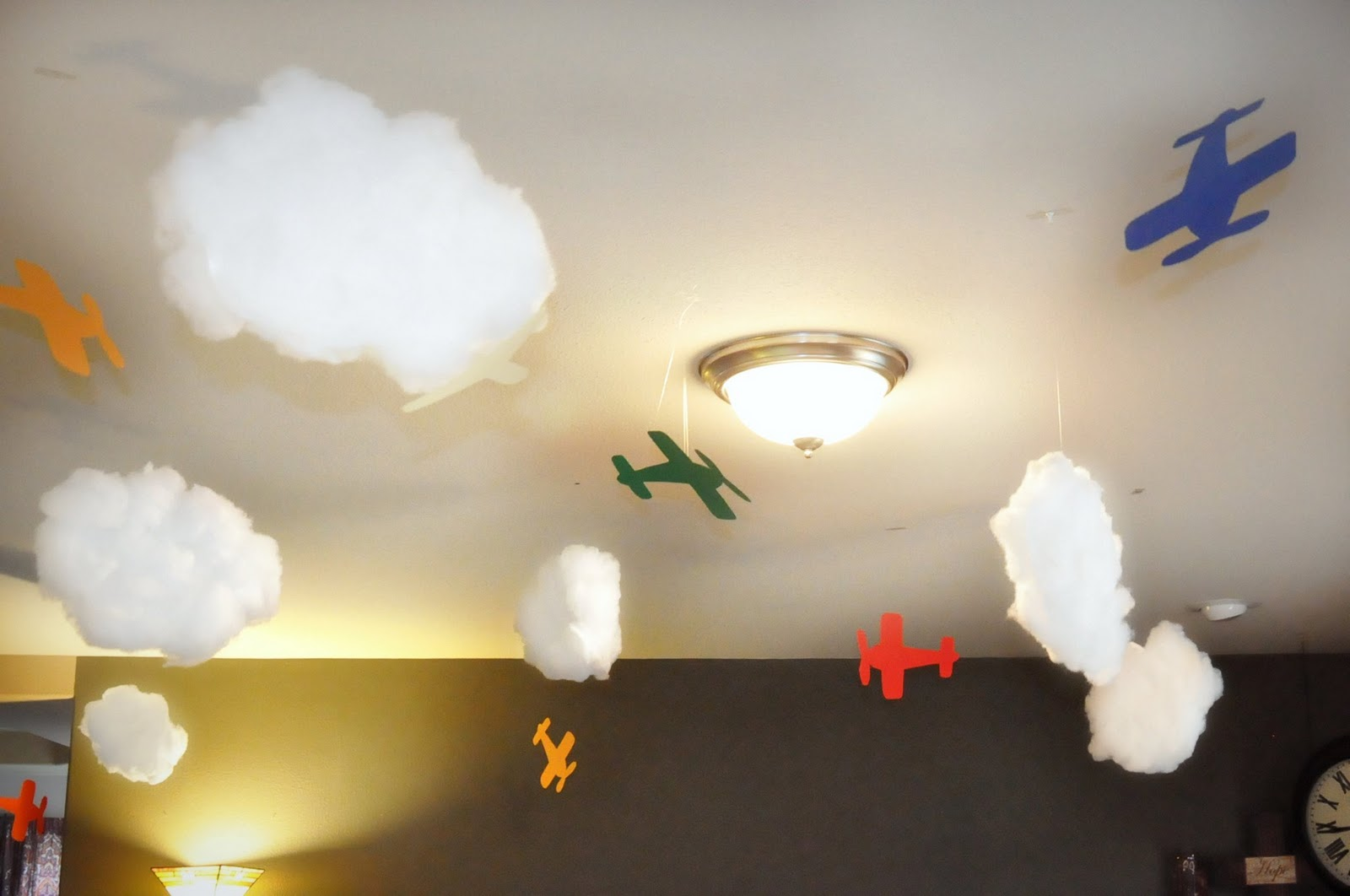 Airplane Decorations For Birthday Party
