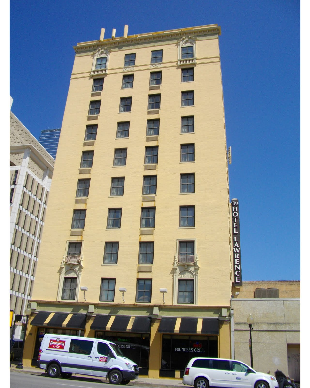 The Hotel Lawrence In Dallas Is A Nice Old Which Was Built Back 1925 Has History And Aly Some Uninvited Guests