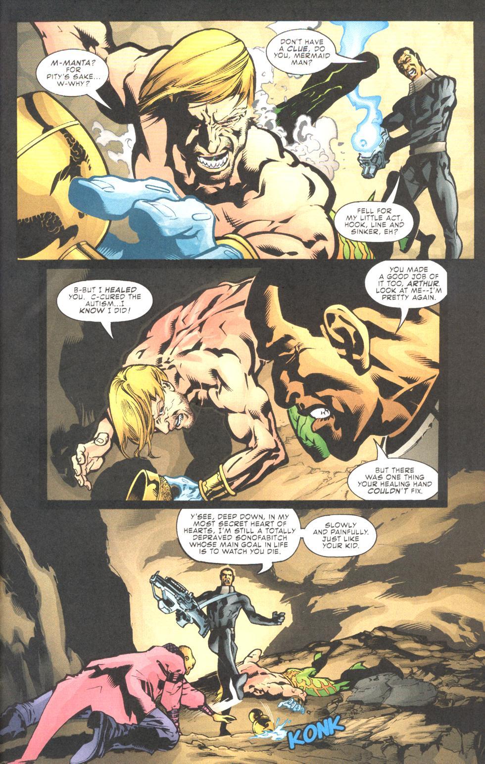 Read online Aquaman (2003) comic -  Issue #11 - 18