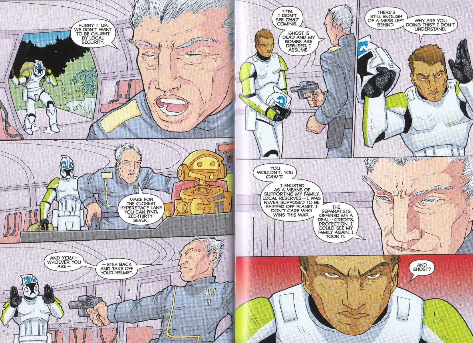 Read online Star Wars: The Clone Wars - The Enemy Within comic -  Issue # Full - 36
