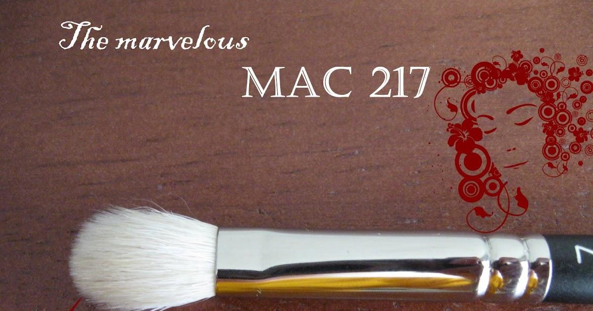 My Makeup Blog: makeup, skin care and beyond: MAC 217 ...