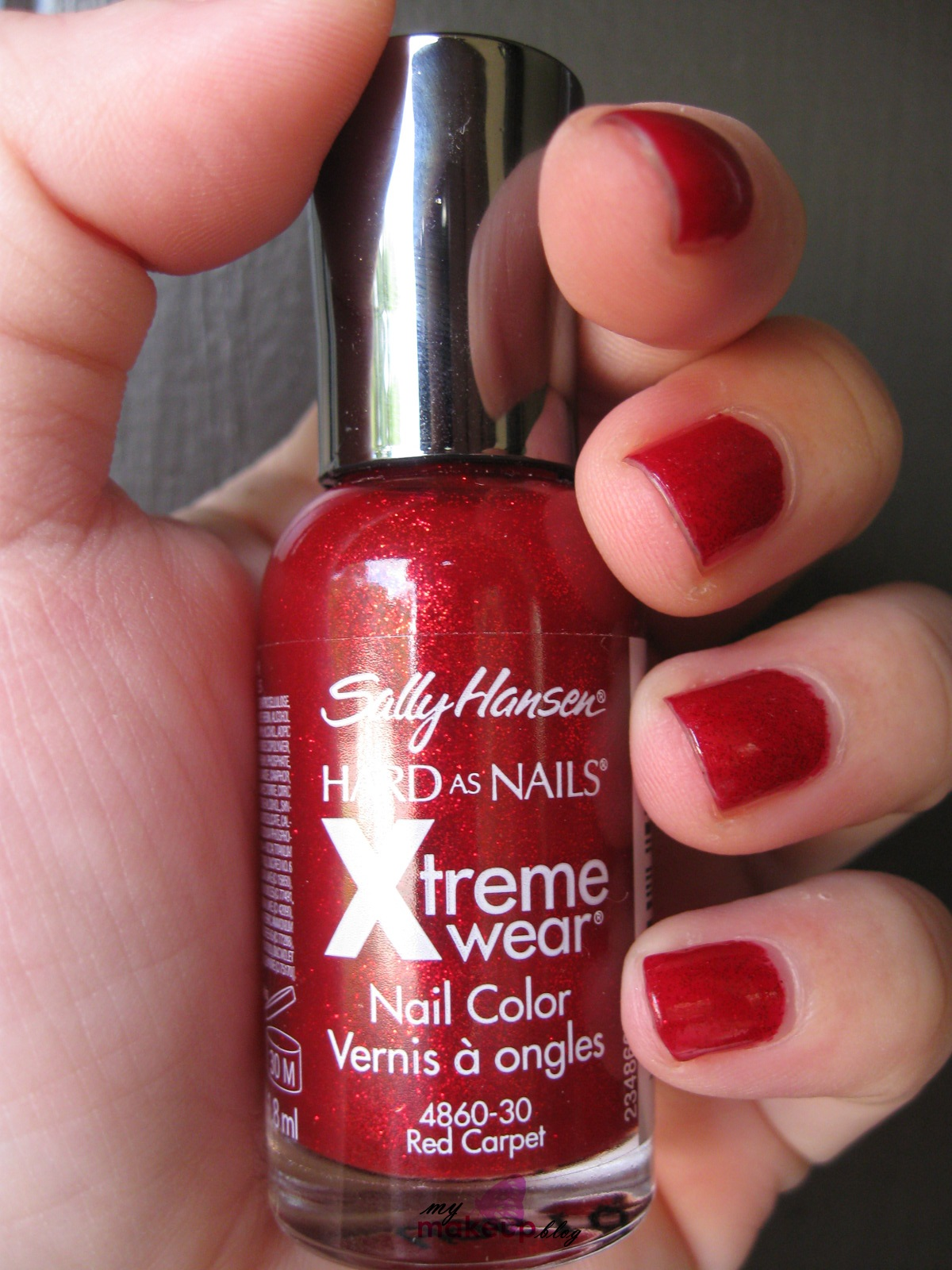 Get Festive with Sally Hansen Xtreme Wear Nail Polish in Red Carpet