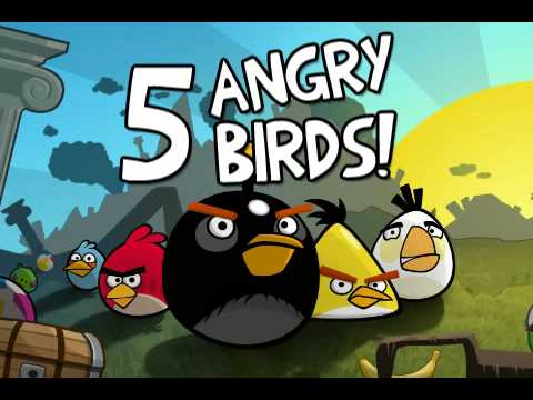 Angry Birds Java (J2ME version) for Symbian S60 3rd, 5th and