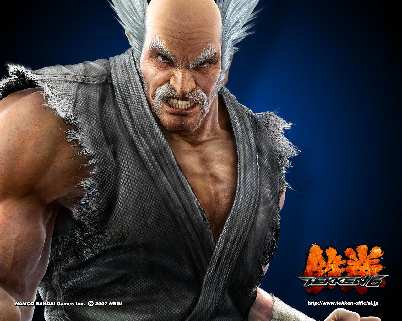 tekken heihachi mishima tekken blogger