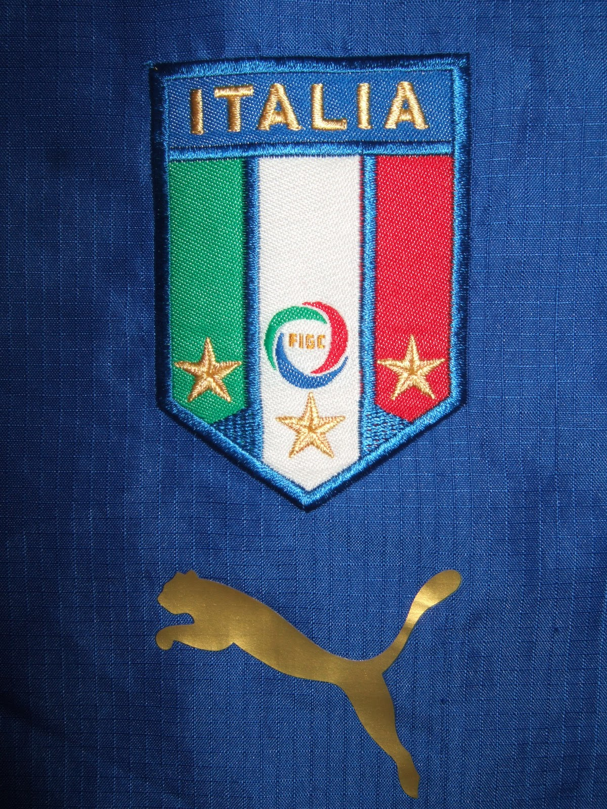 33ce92fd3 This is the shirt Italy wore in 2006 when they won their fourth World Cup  in 2006 and Zinedine Zidane headbutted Marco Materazzi for slagging off his  mum.