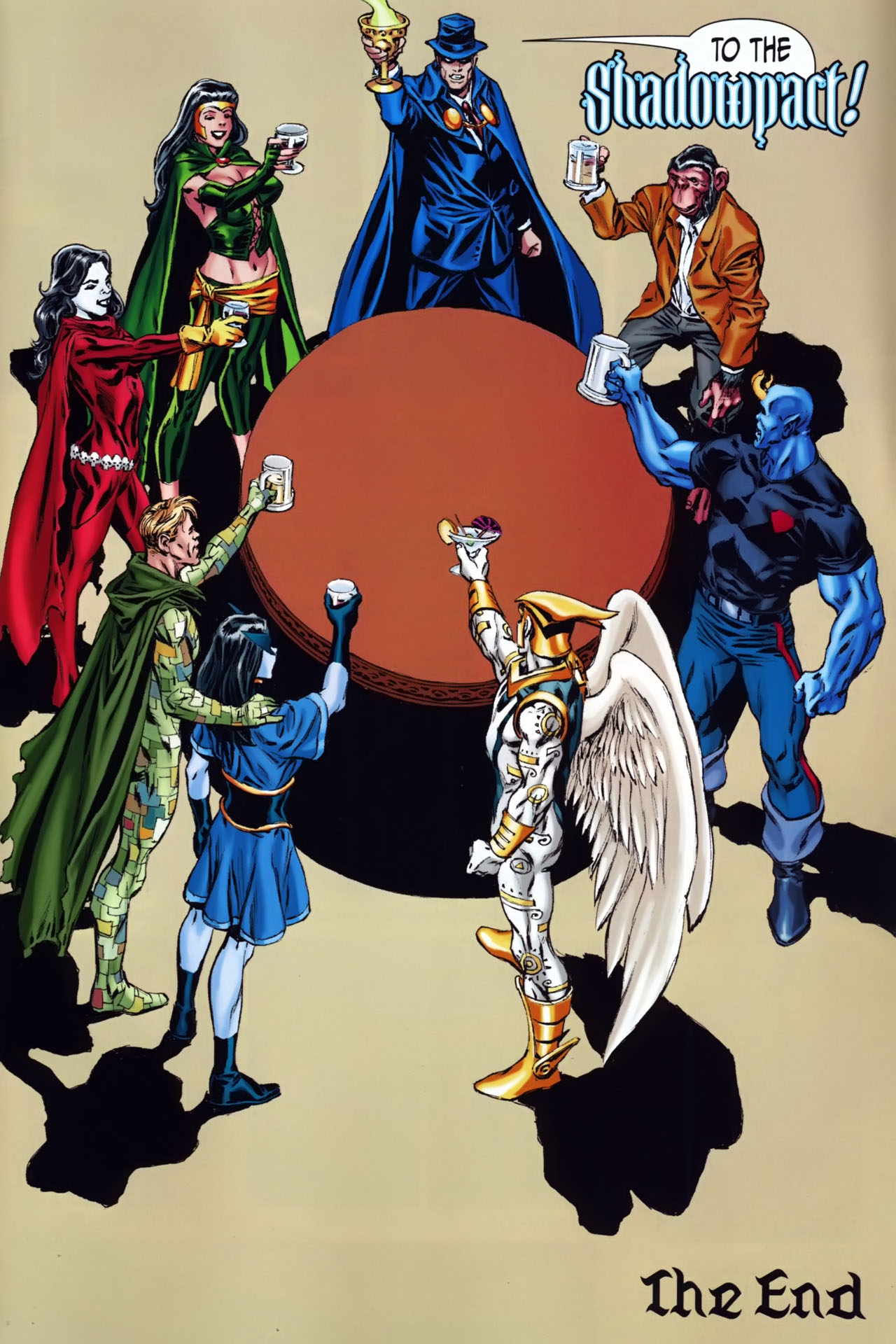 Read online Shadowpact comic -  Issue #25 - 22