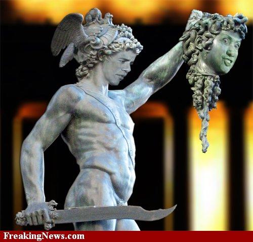 Sipsey Street Irregulars: The Gorgon Reappears. Perseus