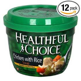 Healthy Choice package edited to read Healthful Choice