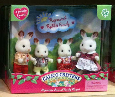 Calico Critters rabbits