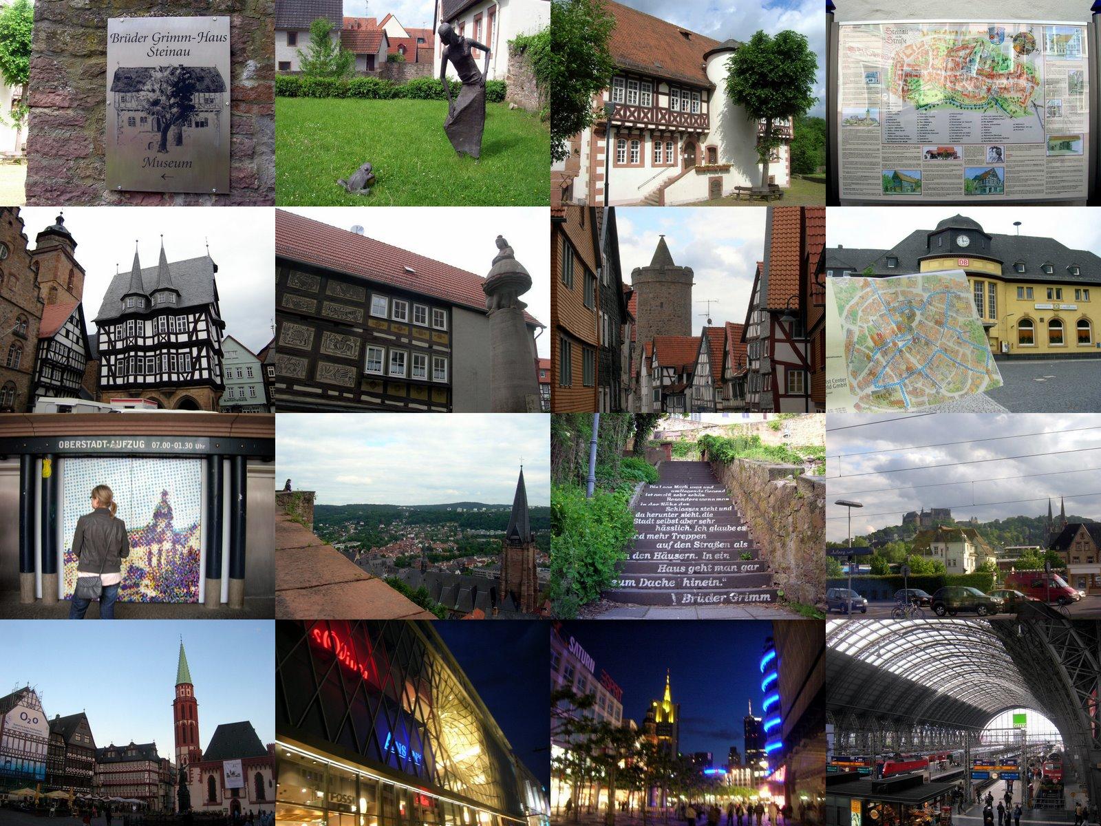 [歐洲回憶] 兩星期玩六國 (1) 一路和烏雲躲貓貓的法蘭克福+德國童話大道暴走之旅   從德國出發,歐洲走透透