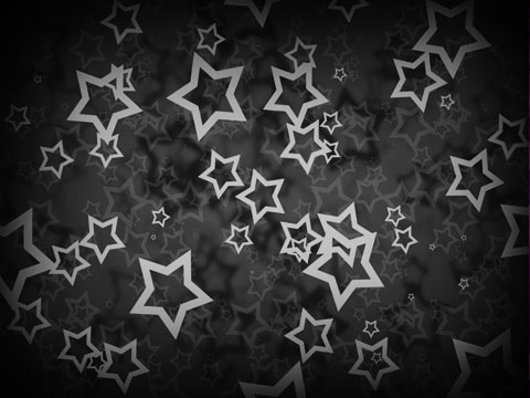 Click To See This Good Black White Stars Myspace Layout Background