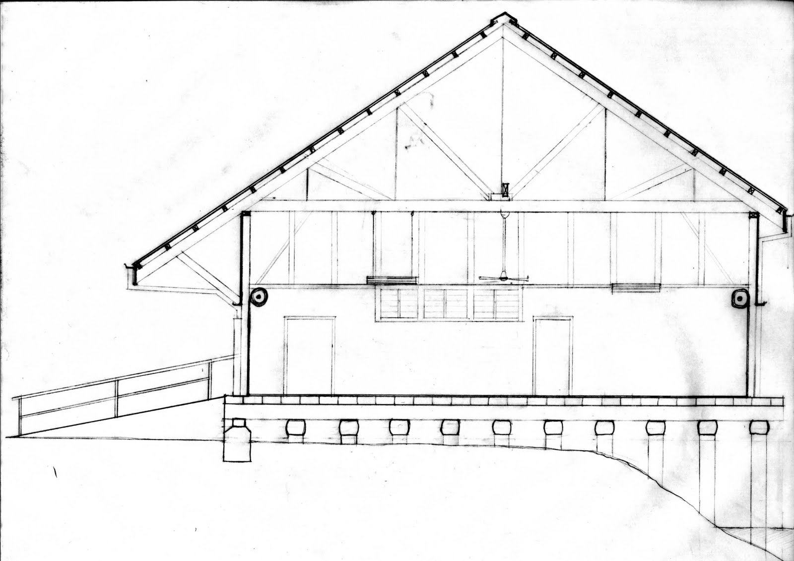 The Senses through Design: completed wharf section - technical