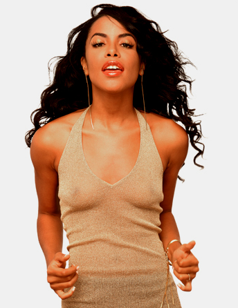 Aaliyah 2001 Album Cover Musicians Who Died on ...