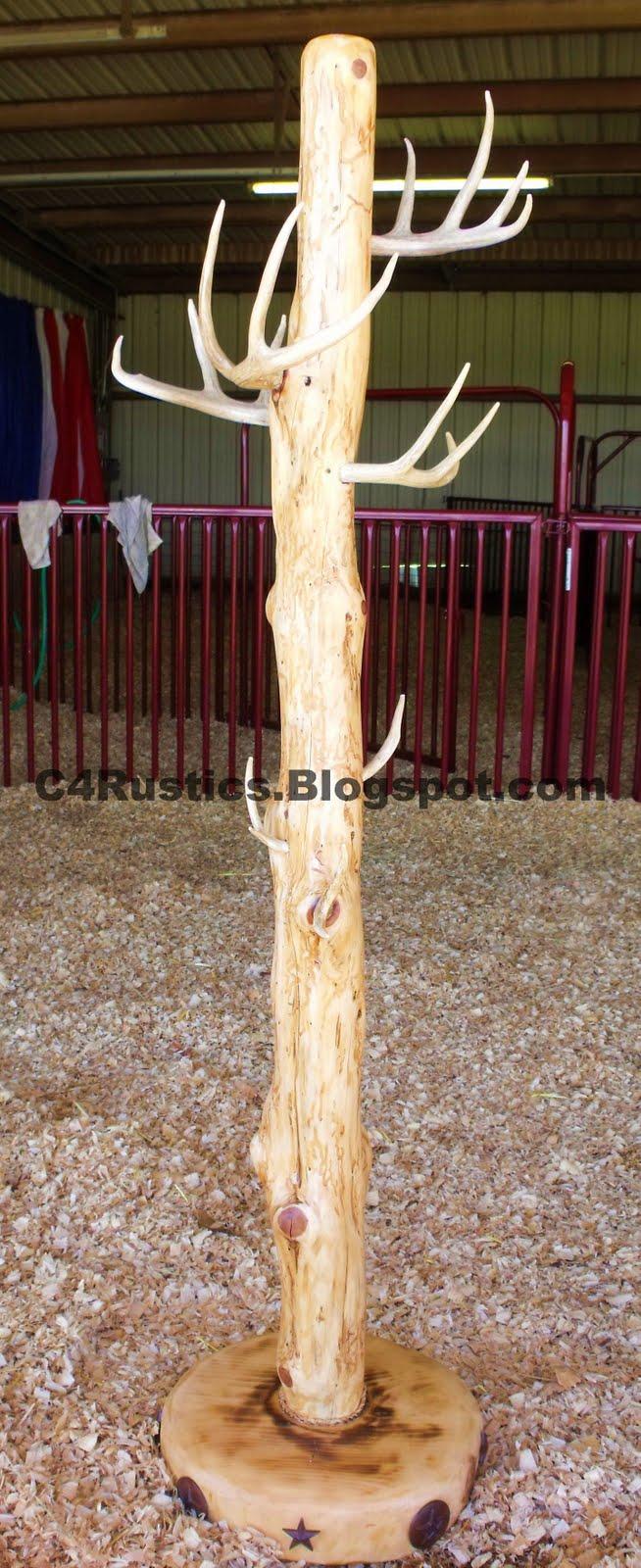 C4 Rustics: Cedar Coat Racks